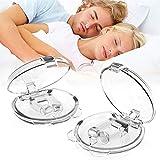 Schnarchstopper Anti Schnarch Premium Schnarchschiene - Nasepreizer BPA-Frei Aus Medizinischen Kunststoff, 2 Stück Stark Wirksamer Schutz als Anti Schnarch Helfer
