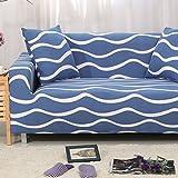 JiaQi All-Inclusive- Sofa-Überwürfe,Elastische schutzhülle,Volltonfarbe sofabezug,Möbel-Protector für 1 2 3 4 Kissen Sofa Anti-Rutsch Staubdichte Couch-T Liebe Sitze