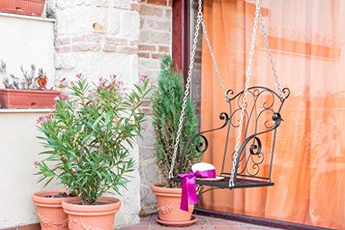 Garten Hängesessel: DanDiBo Hängesessel Relax Schaukel mit Ketten Gartenschaukel