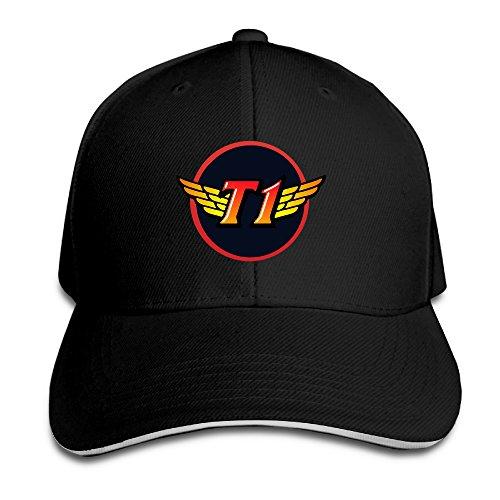 sunpp-sk-telecom-t1-logo-adjustable-snapback-baseball-cap-peaked-hat
