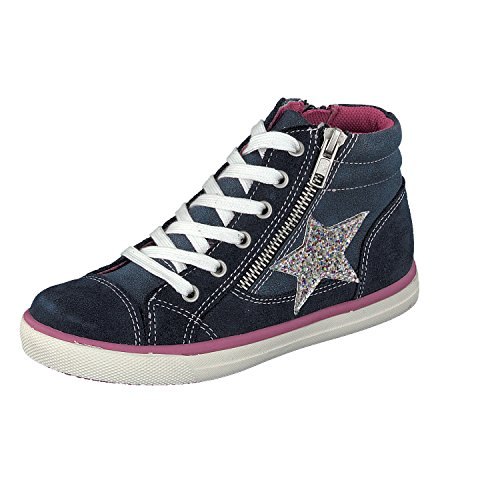 indigo by Clarks 451 051, Sneakers basses fille Bleu Marine
