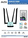Best Alfa Usb Wifis - Alfa Network AWUS1900 802.11ac Ultra speed USB adapter Review