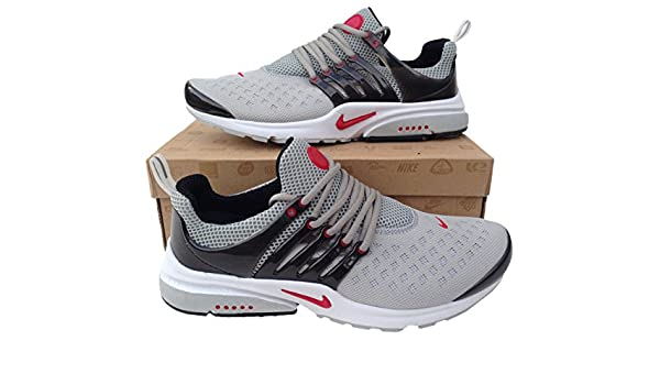 best service 21de4 f3b7d Nike Air Presto Grey Black Red Womens Trainers Shox Shoes ... Sizes 5.5-11  (UK 5.5)  Amazon.co.uk  Sports   Outdoors