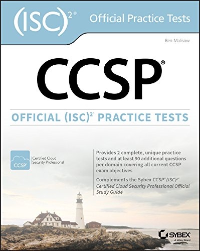 CCSP Official (ISC)2 Practice Tests por Ben Malisow