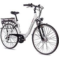"""CHRISSON '28""""City Pedelec E-Bike Vélo en aluminium E de Lady avec 7g Shimano Blanc 50cm de 71,1cm (28pouces)"""