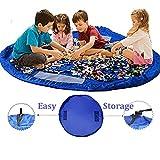 Ferryman Toy Storage Bag Kids Rug child Toy organizer  152,4cm Play and Go, pieghevole Clean Up tappeto per interno ed esterno, portatile per mattoncini Lego