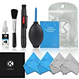Professional Camera Cleaning Kit for DSLR Cameras (Canon, Nikon, Pentax, Sony) including 1