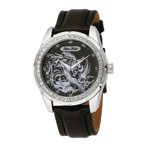 Orologio Marc Ecko Supreme Black Leather E95042G7