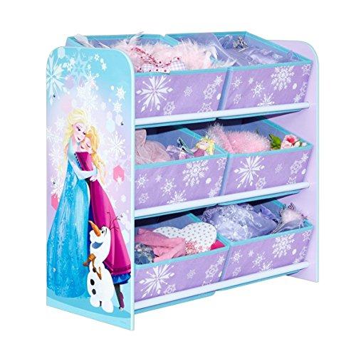 WA Disney Frozen Organizer Spielzeugregal Spielzeugkiste Die Eiskönigin Anna Elsa Sven Olaf Regal
