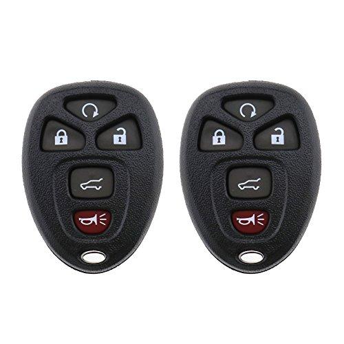 SING F LTD 5Knopf-Fernbedienung Smart Schlüsselanhänger Fall Shell ersetzen für Autos