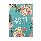 Junlinto, 2019 Agendas A4 des agendas de l'agenda Agenda Agenda mensuel Agenda Quotidien Agenda Organisateur de Bureau Papeterie Fournitures Scolaires 3