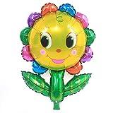 Palloncino di pellicola a forma di pianta per la decorazione di festa di compleanno di matrimonio