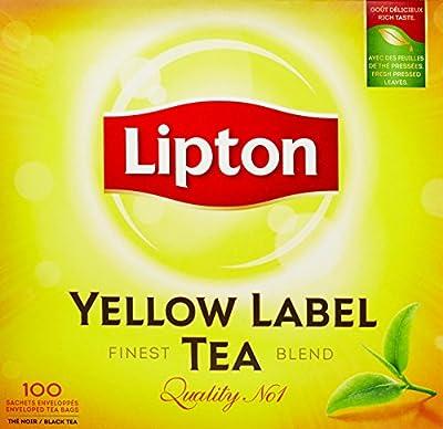 Lipton Yellow Thé Noir 100 Sachets