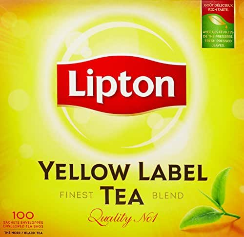 Lipton Yellow Label Tea 100 sachets - 200g