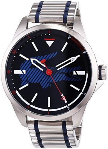 Lacoste Unisex Analog Quarz Uhr mit Edelstahl Armband 2010944