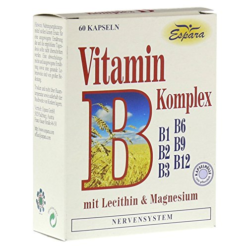 Vitamin B Komplex Kapseln 60 stk