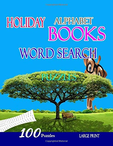 Holiday Alphabet Books Word Search Puzzles: Brain Games WordSearch Puzzles ,boosting entertainment for adults and kids por kham mul