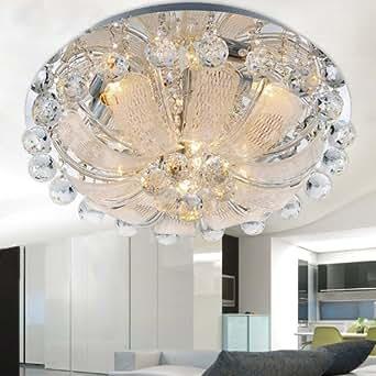 moderne kristall deckenleuchten wohnzimmer led beleuchtung. Black Bedroom Furniture Sets. Home Design Ideas