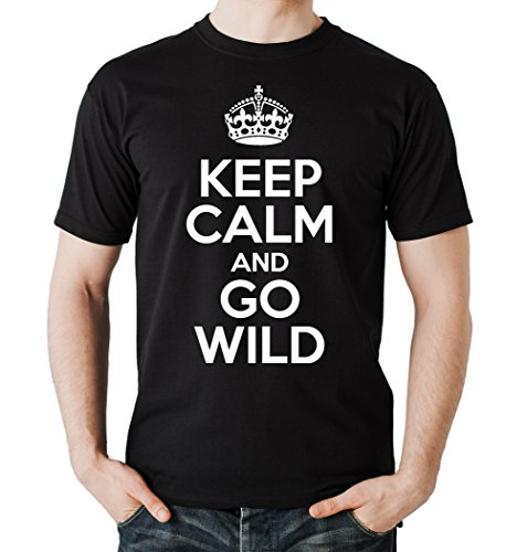 keep-calm-and-go-wild-t-shirt-negro-xl