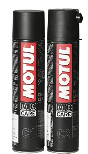 Motul Combo of C2 Chain Lube (400 ml) and C1...