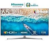 HISENSE H65U7BE TV LED Ultra HD 4K, Dolby Vision HDR, Dolby Atmos, Unibody Design, Smart TV VIDAA U3.0 AI, Ultra Dimming, Triple Tuner