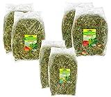 Dehner Nagerfutter, Heu-Mix, je 2 x 3 verschiedene Sorten, je 500 g (3000 g)