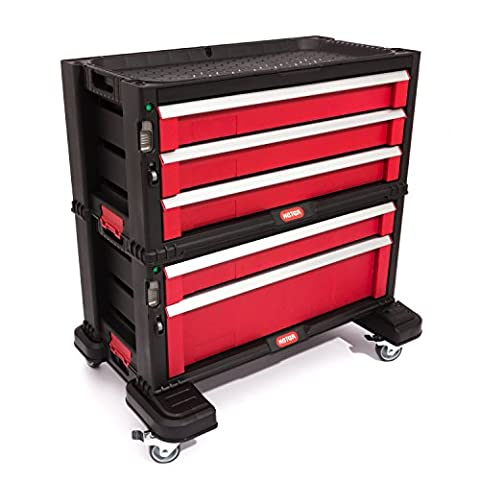 Keter Trolley Tool Chest with 5 Drawers