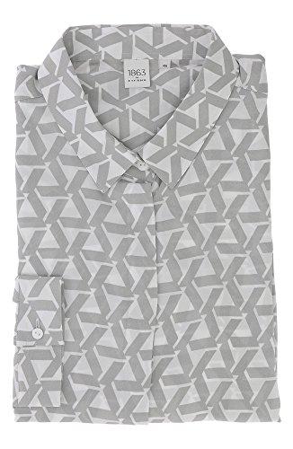 ETERNA long sleeve Blouse MODERN FIT printed Grigio