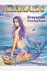 Mermaids Grayscale Coloring book: Coloring Books for Adults Taschenbuch