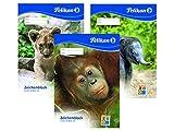 Zeichenblock A3 20Bl Tiere PELIKAN 224840 C3 4012700224842