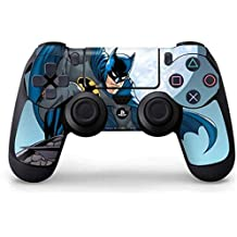 Elton PS4 Controller Designer 3M Skin For Sony PlayStation 4 , PS4 Slim , PS4 Pro DualShock Remote Wireless Controller (set Of Two Controllers Skin) - Batman Watches Over The City