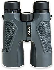 Carson TD-050 - Prismáticos 3D de alta definición, 10 x 50