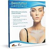 Das Original BeautyPad Décolleté Anti-Falten Silikonpad - Faltenfreies, strafferes Dekolleté ganz einfach im Schlaf - Sicherer Halt durch hautverträgliche Selbstklebefläche