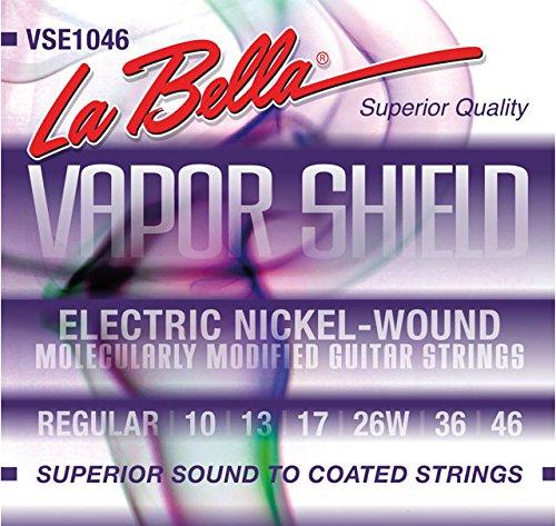 La secuencia del Labella VSE1046 vapor Escudo de la guitarra eléctrica Violeta