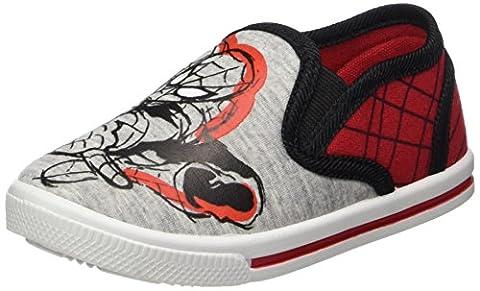 Spiderman Jungen SP003213 Sneaker, Rot (L.Grey/H.Red/Black), 26 EU