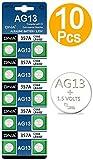 DNA - 10 batterie AG13 LR44, multicolore (confezione da 10)