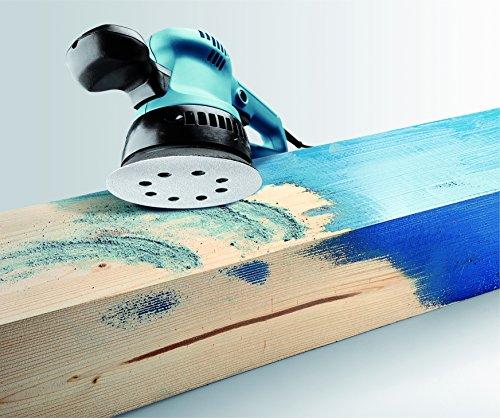 KWB Quick-Stick Schleifscheiben, Holz und Lack, selbsthaftend, Durchmesser 125 mm, 4959-06