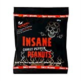 Insane Ghost Pepper Peanuts - Hot as Hell Seasoned Peanuts 80g