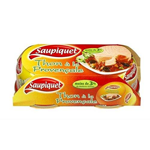 Saupiquet thon sauce Provençale bipack 1/6 135g lot de 2 - ( Prix Unitaire ) - Envoi Rapide Et Soignée