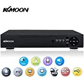 KKmoon 4 Channel AHD DVR Video Recorder 1280*720P CCTV Video Surveillance Security network DVR Recorder System