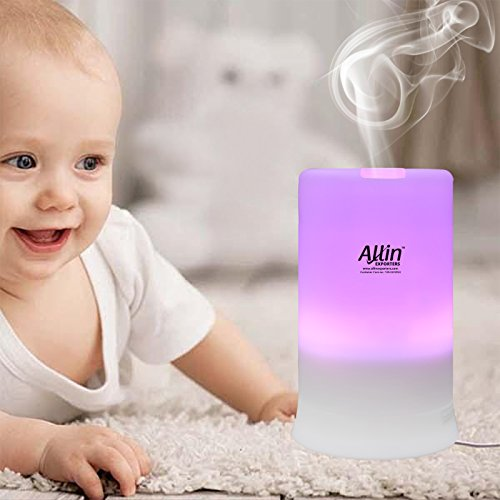 Allin Exporters Electric Ultrasonic Diffuser and Humidifier With 7 LED Color