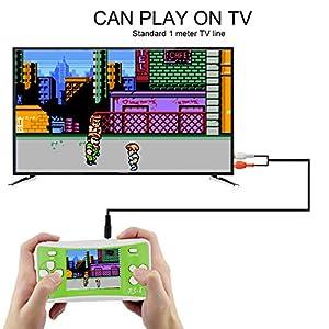 DZSF 2,5 Zoll Tragbarer Retro Games Spieler Handheld-Konsole Built-In 89Games 8-Bit Classic Games Für Kinder Geschenk