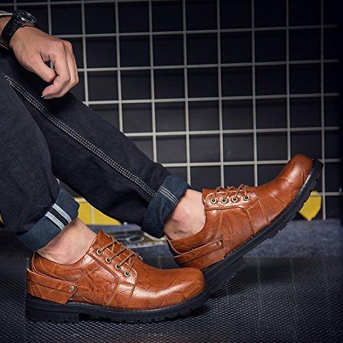 Salabobo - Sandales Compensées Pour Hommes Jaunes