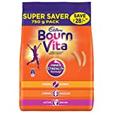 #9: Cadbury Bournvita Chocolate Health Drink, 750 gm Refill Pack