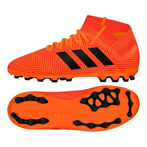 adidas Unisex-Kinder Nemeziz 18.3 AG Fußballschuhe, Orange, 33 EU (Adidas Fußball Schuhe Messi Kinder)