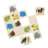 Selecta 63000 Memo Meine ersten Tiere, Kinderspielzeug