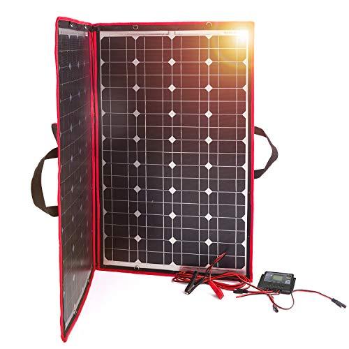 DOKIO 100W Panel Solar 12V Monocristalino