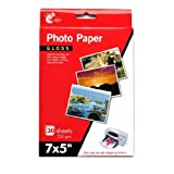 """7 x 5"""" Gloss Photo Paper, 20 Sheets 235 gsm"""