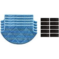 Xingsiyue - Juego de 5 Almohadillas para mopa para aspiradoras Xiaomi Smart Robot