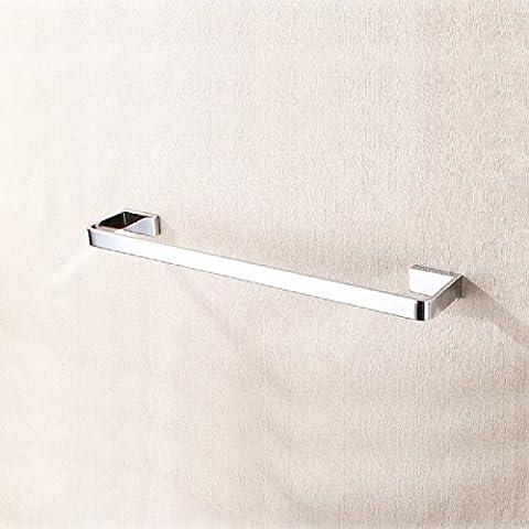 ZHGI Solo latón baño Toalla toallero Toallero toallero accesorios